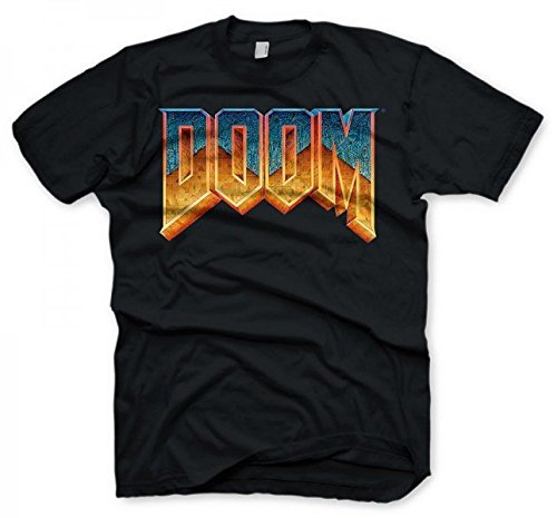 Doom T-Shirt - Logo, Size M [Importación Alemana]