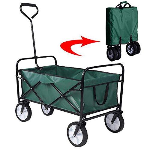 Carro plegable, Carretilla plegable del carro de jardín Festival pesado Trolley Trolley...