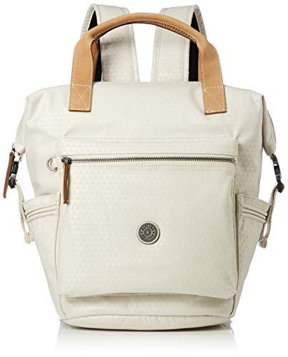 kipling Edgeland Eyes Wide Open Tsuki S Small Backpack Triangle White