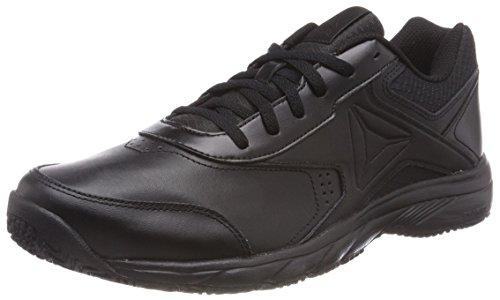 Reebok Work N Cushion 3.0, Zapatillas de Marcha Nórdica para Mujer, Negro (Black 0), 35 EU