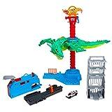 Hot Wheels Dragón Robótico, pista de coches de juguete (Mattel GJL13)