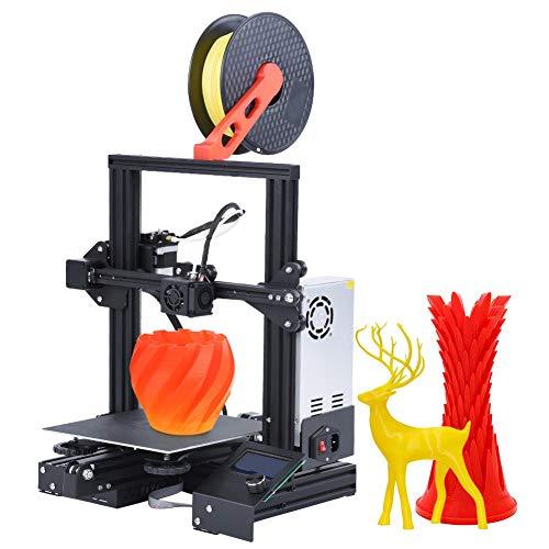 Victool 3D Drucker, Professional 3D Printer Ender 3 3D-Drucker Kit Hochpräzise Online Offline mit Schnelldruckplattform Druckvorgang 220x220x250mm
