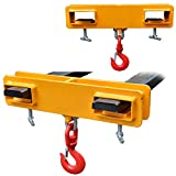 フォークリフト用吊フック(ラッチ付) 耐荷重2.5トン フォークリフト用吊フック フォークフック フォークリフト爪用吊フック(ラッチ付) フォークリフト用アタッチメント 荷吊り 吊り上げ