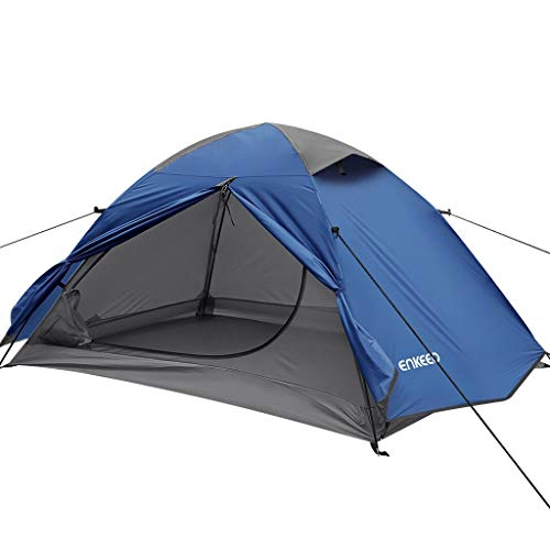 ENKEEO Backpacking Dome Camping Tent For 2 Persons