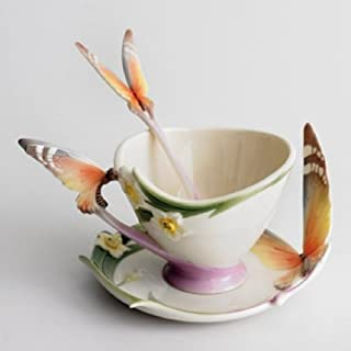 Best franz butterfly cup and saucer Reviews