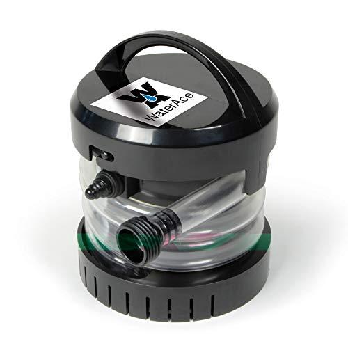WaterAce WABPU Submersible Utility Pump, Black
