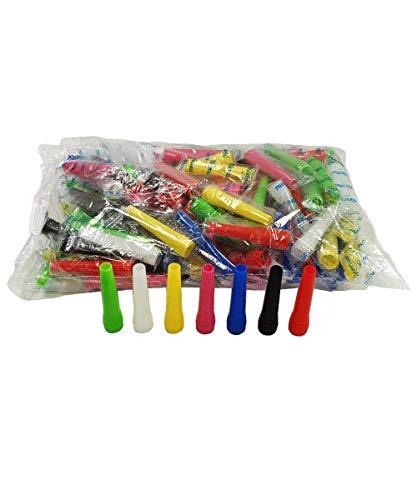 MASOTEC Hygiene Mundstücke für Shisha & Wasserpfeife | 100 Stück | 5,8 cm | Einweg Mundstücke | Direkt vom Hersteller | Hookah Mouth Tips