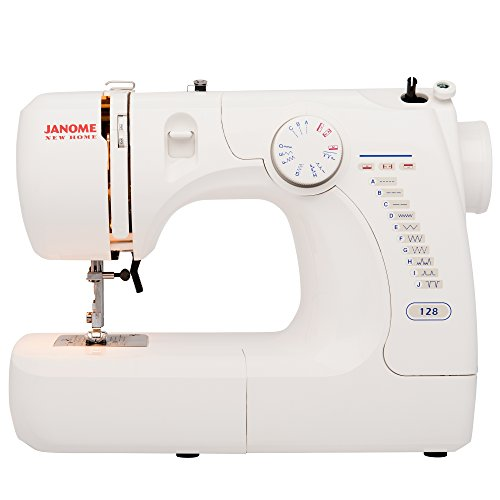 Janome Basic Easy-to-Use 128 Sewing...