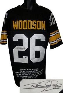 rod woodson autographed jersey