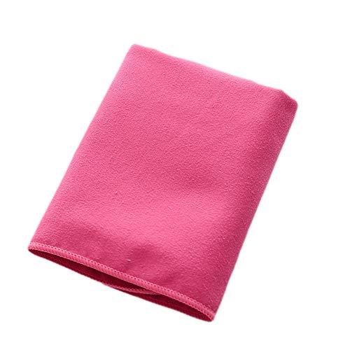 Accessori per sport all'aria aperta Asciugamano sportivo Asciugamano rinfrescante per sport, allenamento, fitness, palestra, yoga, pilates, viaggi, campeggio & amp; ( Colore : Rosa )