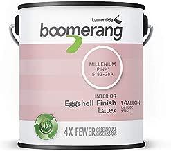 Boomerang Eco-Friendly Interior Paint, Eggshell Finish (Millenium Pink)