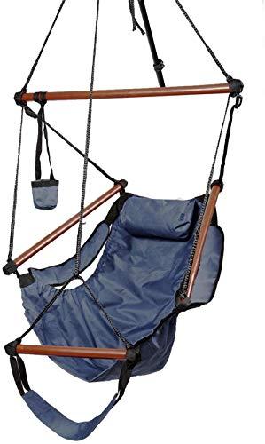 N / A Gartenhängematte Outdoor-Hängematte Camping Air Swing Pad Getränkehalter