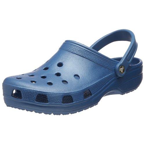 Crocs Classic Clog, Zuecos Unisex Adulto, Azul (Sea Blue), 38/39 EU