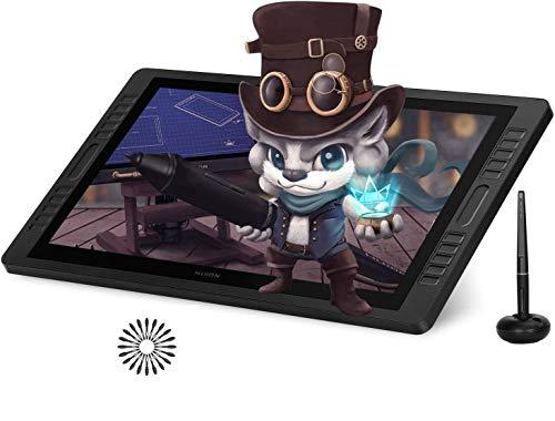 HUION Kamvas Pro 22 2019 Tableta Gráfica con Pantalla, Monitor...