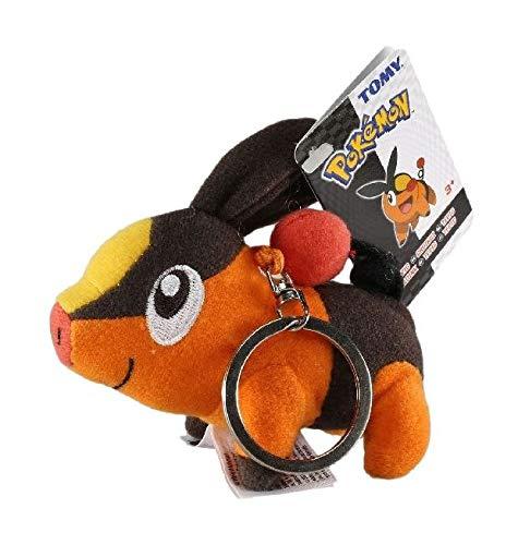 NONAME Pokemon - Tepig Pig (Portachiavi Peluche) -