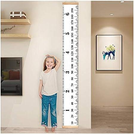 Atpwonz 子供身長計 壁掛け 身長測定 子供の成長記録 木製 子供部屋の装飾 測定範囲0-190cm 北欧インテリア おしゃれ 新年 クリスマスプレゼント
