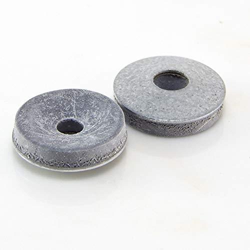 100 Stk. Dichtscheiben EPDM Unterlegscheiben mit Dichtung 16/19/22mm Gummi Dichtring (19 mm)