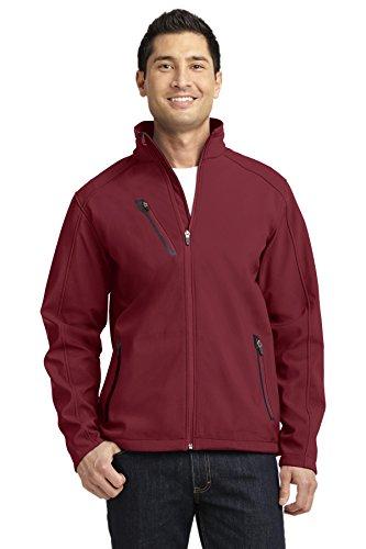 Port Authority® Welded Soft Shell Jacket. J324 Garnet 4XL