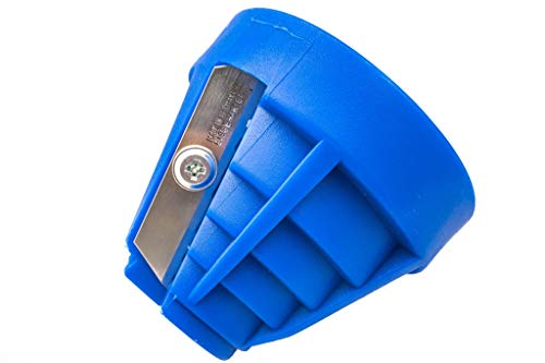 MPJ Rohrentgrater | Rohr Abschräger 20-63mm für Kunststoff und Plastik Rohre: PE MDPE HDPE | Außengrater zum Abkanten und Fasen für Wasserleistungen und Telekommunikationsleitungen