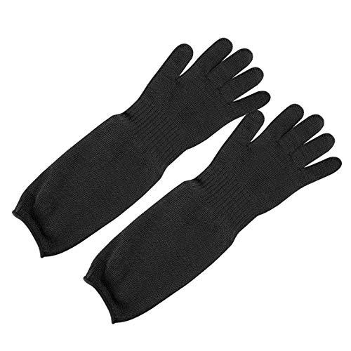 Schnittfeste Handschuhe 1 Paar Anti-Schneidhandschuhe, Hochleistungs-Metzger-Sicherheitshandschuhe Mit 5-Level-Schutz, Komfortabel Und Leicht