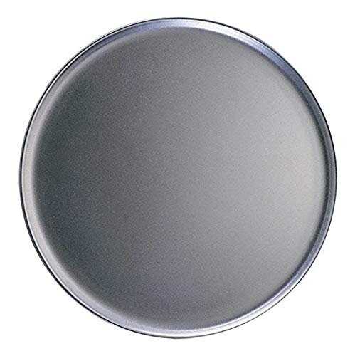 American Metalcraft HACTP16 Coupe Style Pan Heavy Weight 14 Gauge Thickness 16quot Dia Aluminum