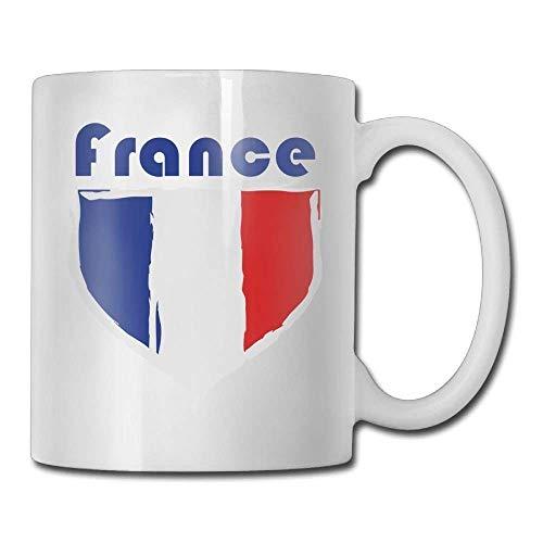 Kaffeetasse mit französischem Emblem, 325 ml