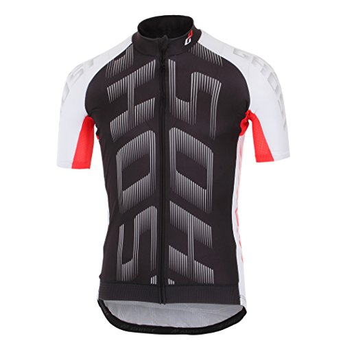 Ghost Trikot Pro Jersey Short Black/White/red 2016 (m)