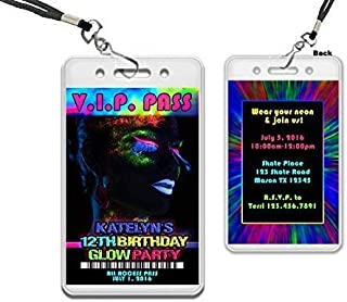 vip pass invitations for sweet 16