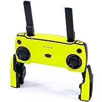 WRAPGRADE Skin Compatible con dji Mavic Mini Mando a Distancia (Neon Yellow)