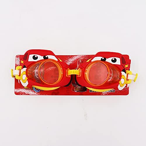 Lunettes de plongée Enfants dessin animé jouant dans l'eau piscine divertissement eau élastique bandeau de natation lunettes enfants équipement enfant mignon ( Color : F , Eyewear Size : One Size )