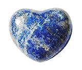 Lapis Lazuli - Corazón con Piedras Preciosas (45 mm, en Bolsa de Organza)