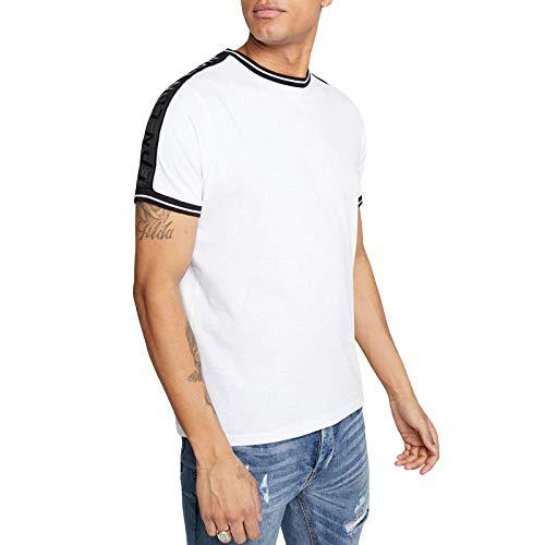 Brave Soul Herren T-Shirt Rubio, kurzärmelig - - Medium