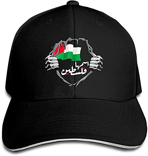 'N/A' YEEATZ Free Palestine Gorra de sándwich ajustable, unisex, clásica, gorra de béisbol al aire libre