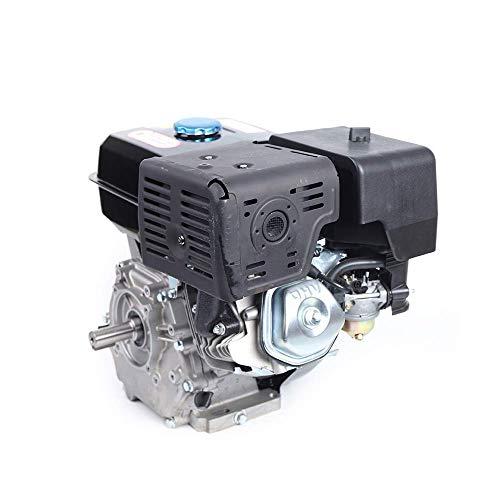 15 PS 9 KW Benzinmotor HaroldDol 4-Takt 420CC Standmotor Kartmotor Austauschmotor Zwangsluftkühlung Einzylinder Motor Mit Ölalarm (25mm Wellendurchmesser)