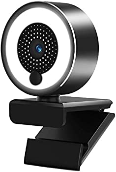 A-Zone 2K Webcam with Ring Light