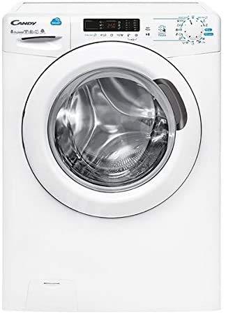 CANDY Lavasciuga CSWS 485D/5-01 Classe A 8/5 kg bianco a caricamento frontale, Velocità di centrifuga 1400 rpm