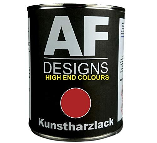 Alex Flittner Designs 1 Liter Kunstharzlack für HANOMAG ROT Maschinen LKW NFZ Lack Landmaschine Baumaschine