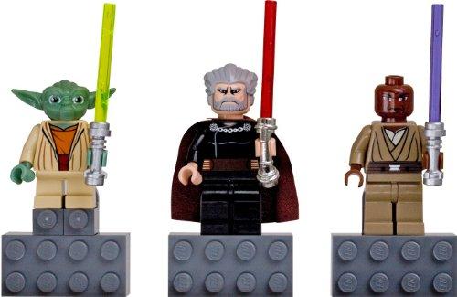 LEGO Star Wars Magnet Set - Yoda, Count Dooku, Mace Windu] / LEGO STAR WARS Magnet Set: Yoda, Count Dooku and Mace Windu 852555 [domestic distribution regular article] (japan import)
