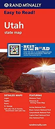 Utah Road Map by Rand McNally(2011-03-16)