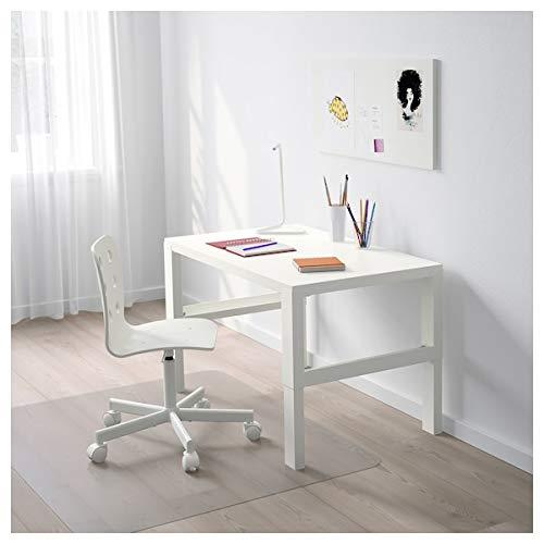 DiscountSeller Påhl Schreibtisch, weiß, 96 x 58 cm, langlebig und pflegeleicht. Schreibtische für zu Hause. Schreibtische und Computertische Tische und Schreibtische. Möbel. Umweltfreundlich.