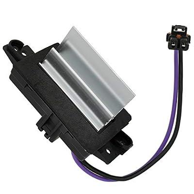 HVAC Blower Motor Control Module Resistor 4P1516 15-80567 Compatible With Chevy Silverado Trailblazer Cadillac Escalade GMC Envoy Sierra Buick Rainier AC Controls