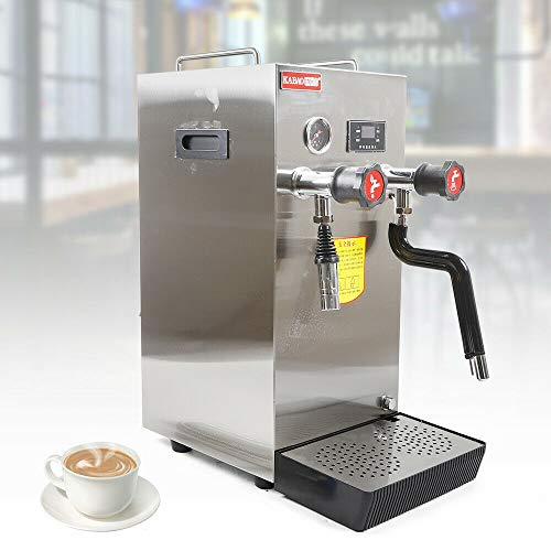 Cheapest Price! Espresso Machine - Commericial Professional Espresso Coffee Milk Machine Steam Water...