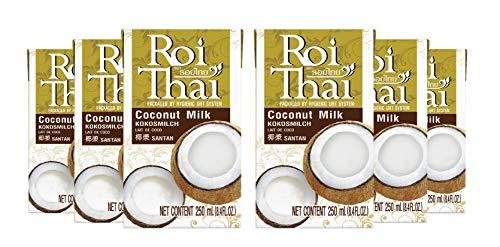Roi Thai coconut milk 250 ml (8.4 oz) (Pack 6)