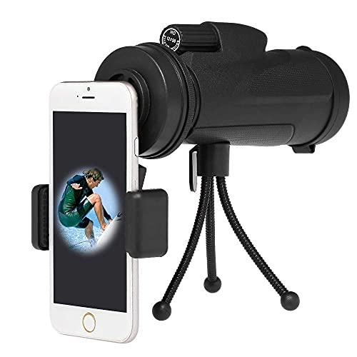 LXHJZ Binoculares Telescopio Smartphone Fotografía Adaptador Montaje Conector Soporte para telescopio observación Birdwatch Adaptador teléfono Universal Montaje