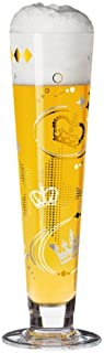 Ritzenhoff Pilsner Beer Glass with Coaster by Kathrin Stockebrand
