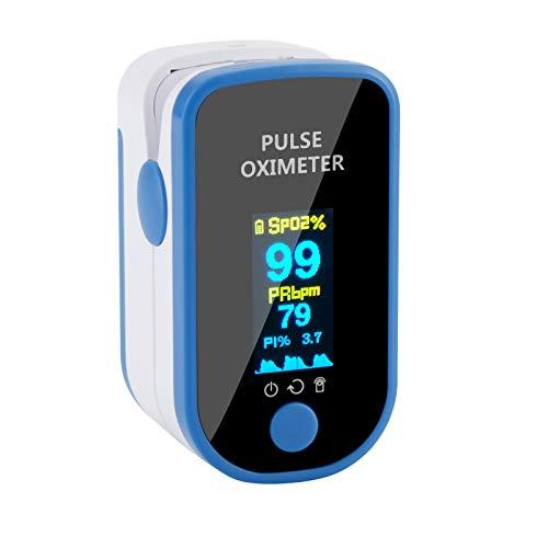 Pulsossimetro con display
