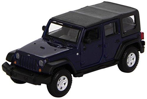 günstig Bburago 43012-1: 32 Jeep Wrangler Unlimited Rubicon Automodell Blue Metallic Car Vergleich im Deutschland