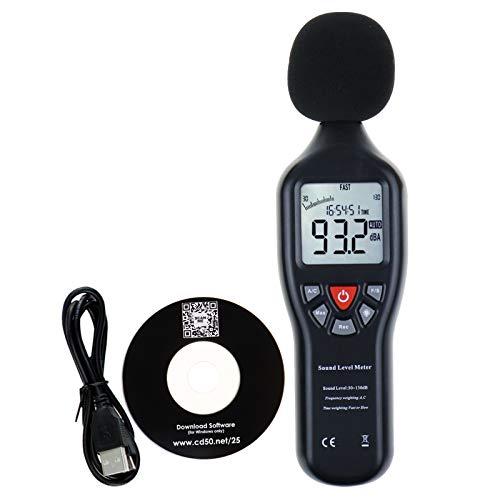 Misuratore Di Livello Professionale Audio Con Retroilluminazione Display Ad Alta Precisione Di...