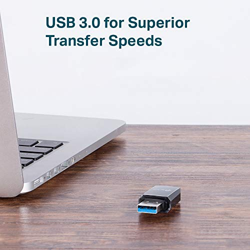 TP-Link Archer T3U AC1300 Dual Band WLAN Adapter (867Mbit/s (5GHz), 400Mbit/s (2,4GHz) 802.11ac, USB 3.0, MU MIMO, unterstützt Windows 10/8.1/8/7/XP,Mac OS X) schwarz