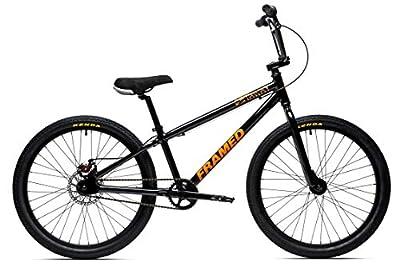 Framed Getaway BMX Bike Mens Black 24in